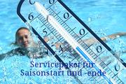 Servicepaket für Saisonstart und -ende